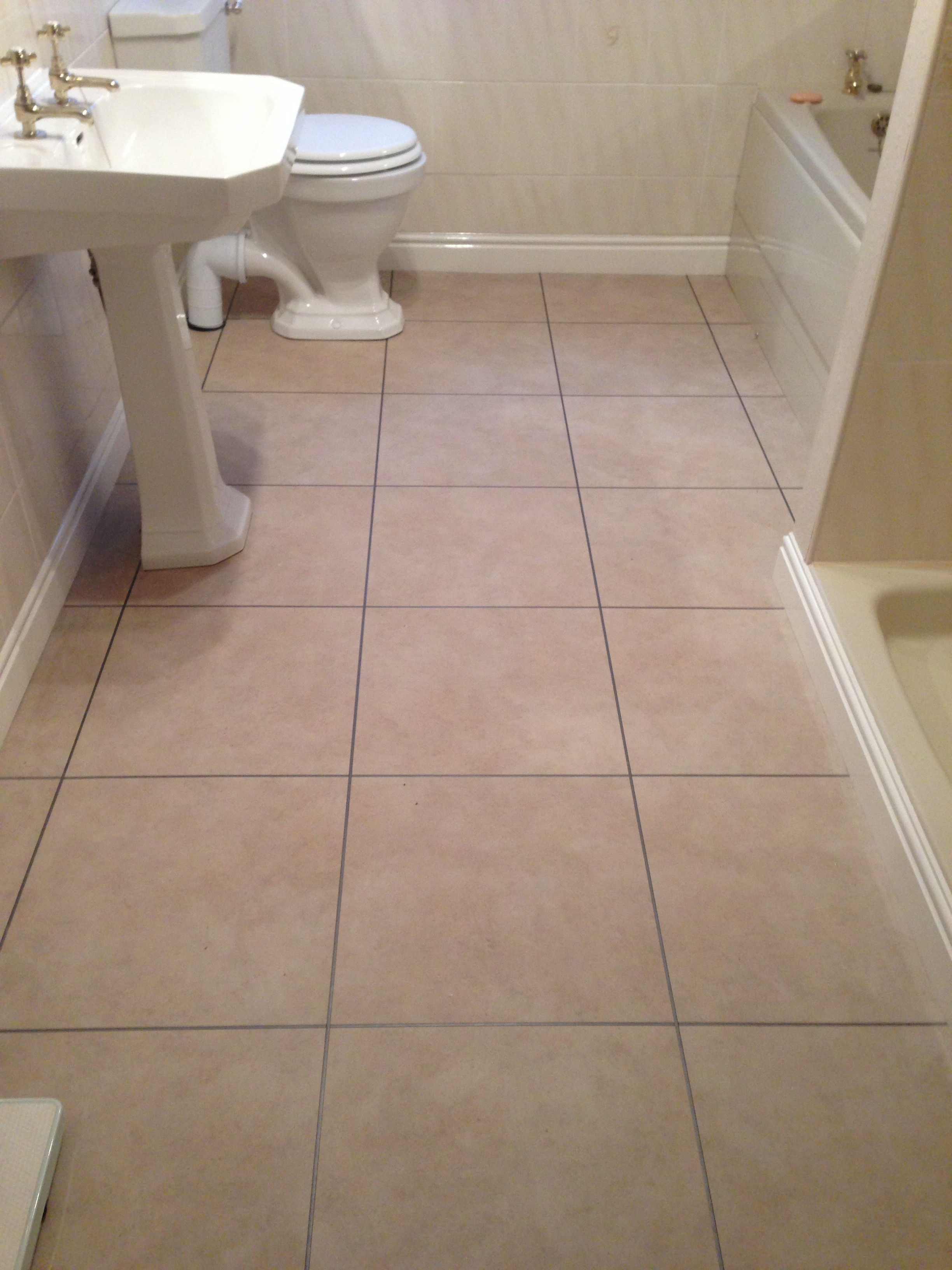 Mrs Cragg Bathroom Flooring